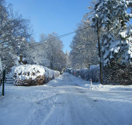 Crowborough in Winter
